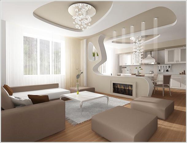 9 načina da pametno spojite kuhinju i dnevnu sobu