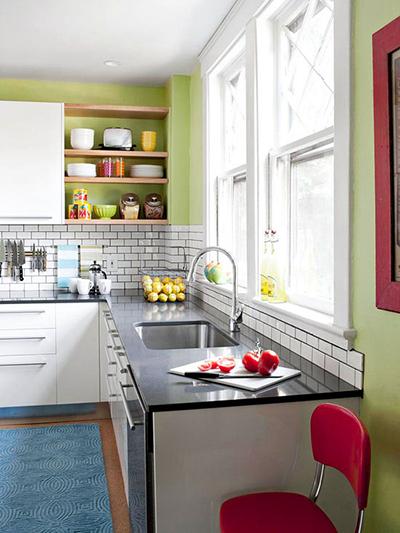 12 načina da malu i jednoličnu kuhinju učinite interesantnijom
