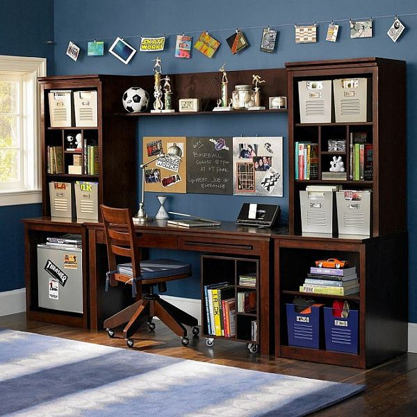 boys-study-space-blue-and-brown